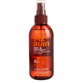Piz Buin Tan & Protect ochranný olej urychlující opalování SPF 6  150 ml