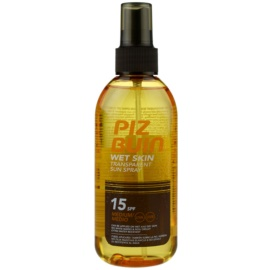 Piz Buin Wet Skin sprej na opalování SPF 15  150 ml