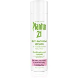 Plantur 21 champô nutritivo com cafeína para cabelo danificado e pintado  250 ml