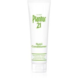 Plantur 21 condicionador nutri-cafeína para cabelo danificado e pintado  150 ml