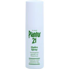 Plantur 21 spray hidratante spray hidratante para finalização térmica de cabelo  100 ml