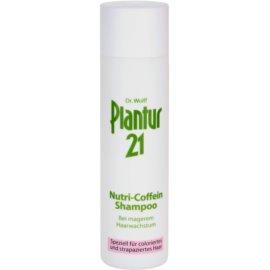 Plantur 21 szampon nutri-kofeinowy do włosów farbowanych i zniszczonych  250 ml