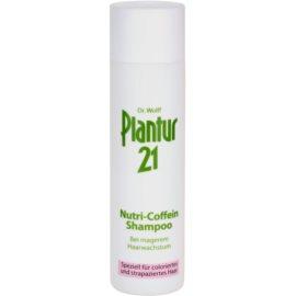 Plantur 21 nutri-kofeinový šampon pro barvené a poškozené vlasy  250 ml