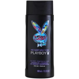 Playboy No Sleep New York Duschgel für Herren 400 ml
