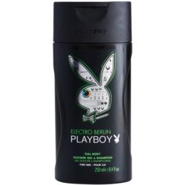 Playboy Berlin sprchový gel pro muže 250 ml