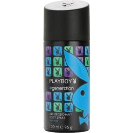 Playboy Generation desodorante en spray para hombre 150 ml