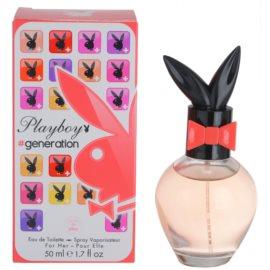 Playboy Generation Eau de Toilette für Damen 50 ml