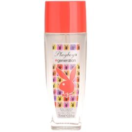 Playboy Generation dezodorant z atomizerem dla kobiet 75 ml