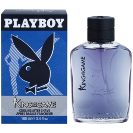 Playboy King Of The Game voda po holení pro muže 100 ml