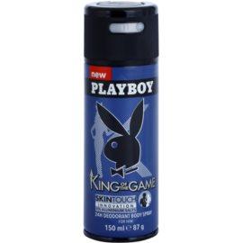 Playboy King Of The Game dezodorant w sprayu dla mężczyzn 150 ml