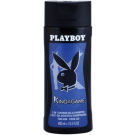 Playboy King Of The Game Duschgel für Herren 400 ml