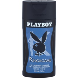 Playboy King Of The Game tusfürdő férfiaknak 250 ml