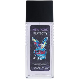 Playboy New York deodorante con diffusore per uomo 75 ml
