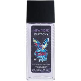 Playboy New York Deo met verstuiver voor Mannen 75 ml