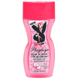 Playboy Play It Sexy Pin Up sprchový gel pro ženy 250 ml