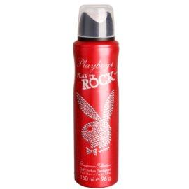 Playboy Play It Rock desodorante en spray para mujer 150 ml