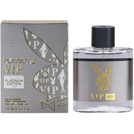 Playboy VIP Platinum Edition Eau de Toilette para homens 100 ml