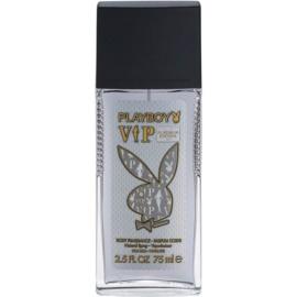 Playboy VIP Platinum Edition Deo mit Zerstäuber für Herren 75 ml