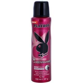 Playboy Queen Of The Game Deo-Spray für Damen 150 ml