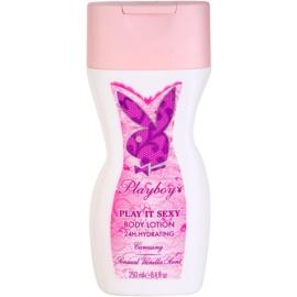 Playboy Play It Sexy mleczko do ciała dla kobiet 250 ml