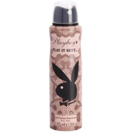 Playboy Play It Sexy Deo Spray voor Vrouwen  150 ml