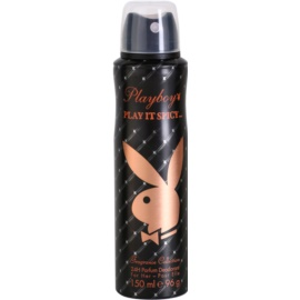 Playboy Play It Spicy deodorant Spray para mulheres 150 ml