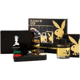 Playboy VIP ajándékszett VII. Eau de Toilette 50 ml + póker szett