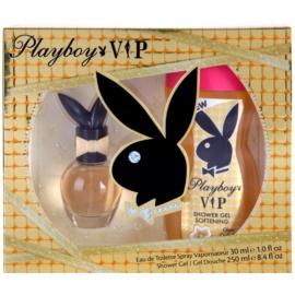 Playboy VIP dárková sada V. toaletní voda 30 ml + sprchový gel 250 ml