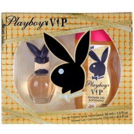 Playboy VIP set cadou V.  Apa de Toaleta 30 ml + Gel de dus 250 ml