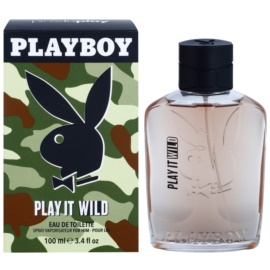 Playboy Play it Wild Eau de Toilette voor Mannen 100 ml