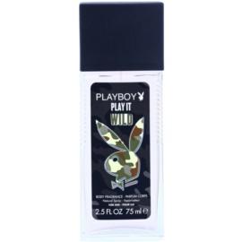Playboy Play it Wild Deo mit Zerstäuber für Herren 75 ml