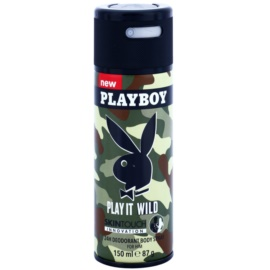 Playboy Play it Wild Deo-Spray für Herren 150 ml