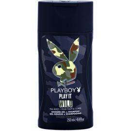 Playboy Play it Wild tusfürdő férfiaknak 250 ml