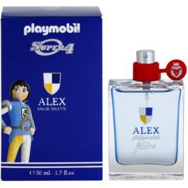 Playmobil Super4 Alex Eau de Toilette para crianças 50 ml