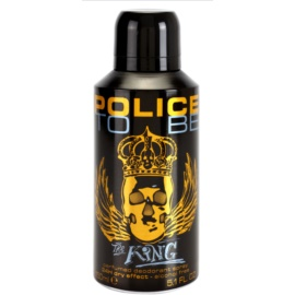 Police To Be The King Deo-Spray für Herren 150 ml