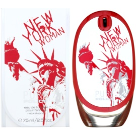 Police Pure New York Woman Eau de Toilette für Damen 75 ml