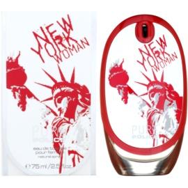 Police Pure New York Woman Eau de Toilette für Damen 75 ml