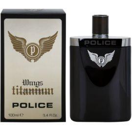 Police Titanium Wings Eau de Toilette pentru barbati 100 ml