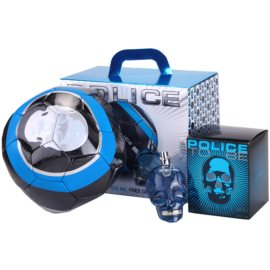 Police To Be coffret I. Eau de Toilette 125 ml + bola de futebol