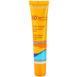 Polysianes Sun Care ochranný fluid proti vráskám SPF 50+  40 ml