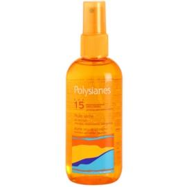 Polysianes Sun Care suchý olej na opalování SPF 15  150 ml