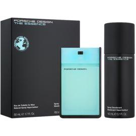 Porsche Design The Essence coffret cadeau VIII.  eau de toilette 50 ml + déodorant en spray 150 ml