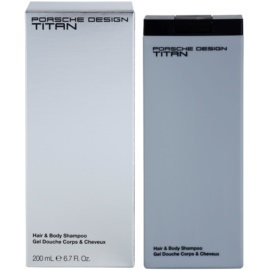 Porsche Design Titan gel za prhanje za moške 200 ml
