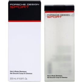Porsche Design Sport gel de duche para homens 200 ml