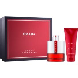 Prada Luna Rossa Sport ajándékszett IV.  Eau de Toilette 100 ml + borotválkozás utáni balzsam 100 ml