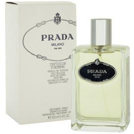 Prada Infusion D'Homme spray dezodor férfiaknak 100 ml