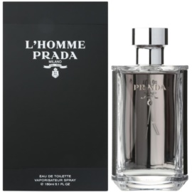 Prada L'Homme Eau de Toilette for Men 150 ml