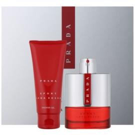 Prada Luna Rossa Sport ajándékszett II.  Eau de Toilette 100 ml + tusfürdő gél 100 ml