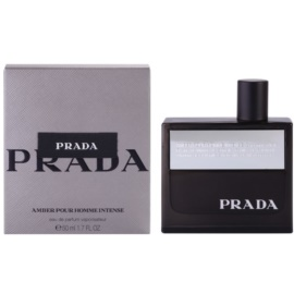 Prada Amber Pour Homme Intense Eau de Parfum voor Mannen 50 ml
