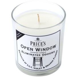 Price´s Open Window vonná svíčka 350 g střední